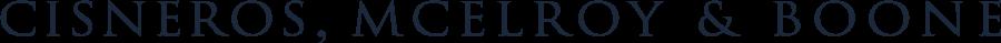 Cisneros, McElroy, and Boone logo